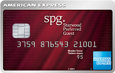 Carte de crédit Starwood Preferred Guest(MD*) d'American Express