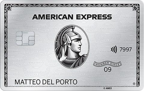 Carta Platino American Express