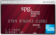 Starwood Preferred Guest Card American Express OPEN