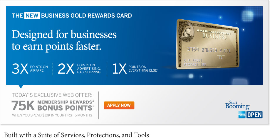 Frequent flyer bonuses one day only 75000 bonus membership if you apply today for the american express business gold rewards card for us residents only and spend 10000 within 5 months you will earn 75000 colourmoves