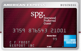 Starwood Preferred American Express Business Card